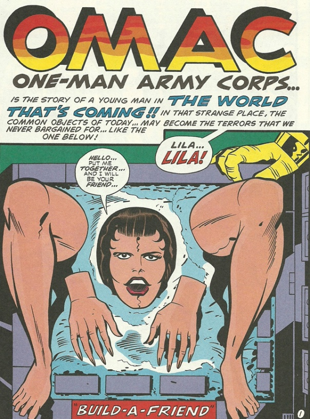 Lila, The Build-A-Friend from OMAC