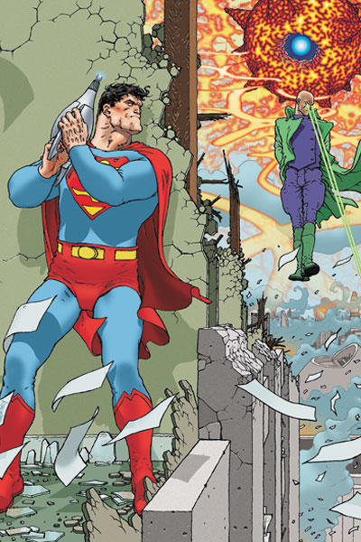 Even Superman sometimes faces someone tougher than he is.