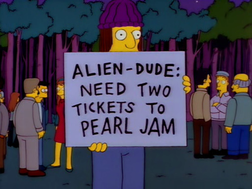 After Pearl Jam boycotted Ticketmaster, fans had to deal with the unintended consquence of out-of-town scalpers