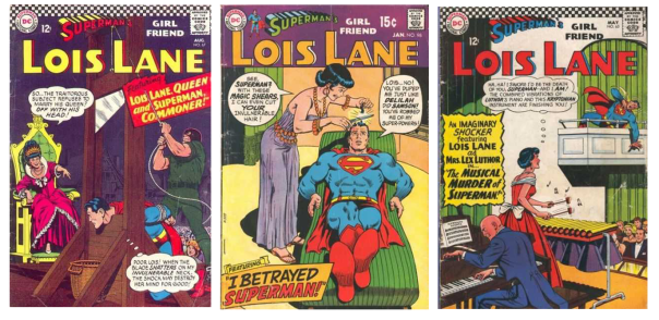 Even Lex Luthor hath no fury like a Lois scorned
