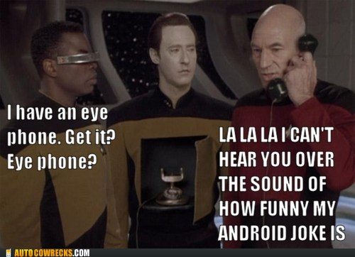 Geordis iPhone