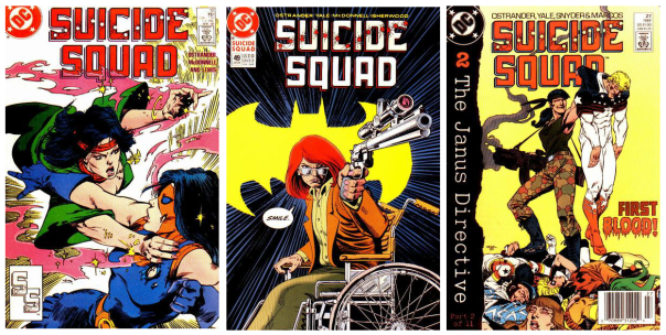 Suicide Squad covers