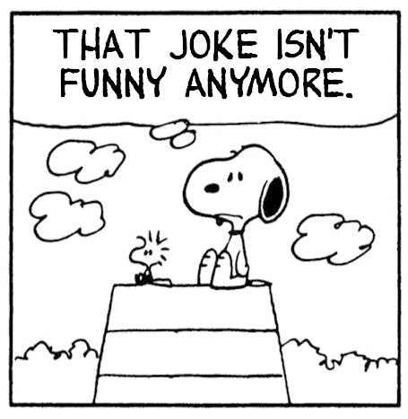 Snoopy - Joke