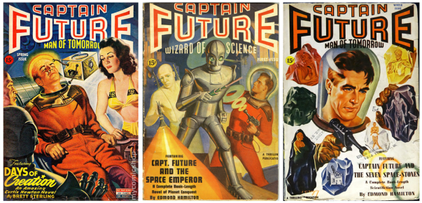 Captain Future Covers 1