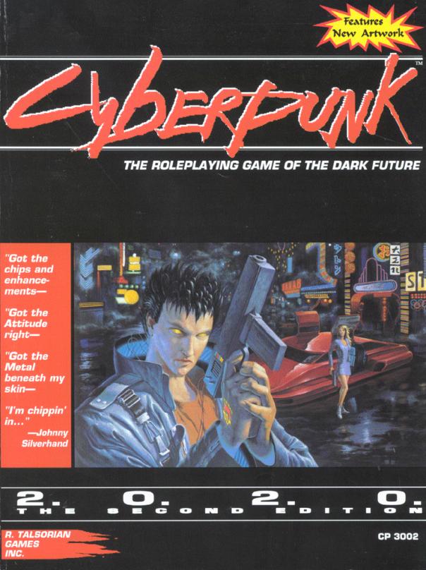 Cyberpunk 2020 cover