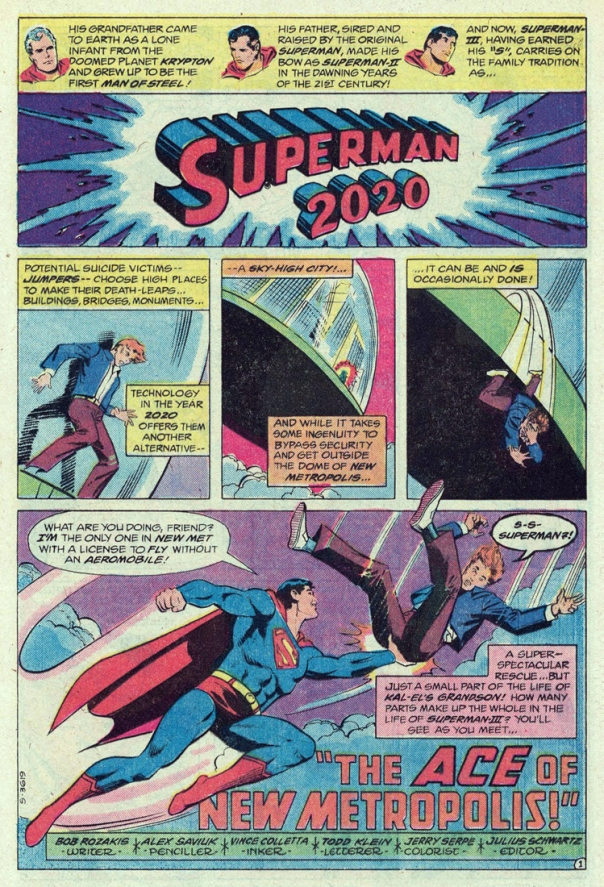 Superman 2020 comic